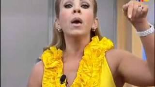 getlinkyoutube.com-Rocio Sanchez Azuara pone en su lugar a Laura Bozzo - EN VIVO en Cosas De La Vida-.flv