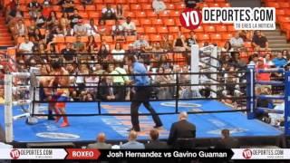 Josh Hernandez vs. Gavino Guaman Rematch UIC Pavilion Warriors Boxing