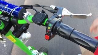 getlinkyoutube.com-Electric scooter 1000 watt Very Fast
