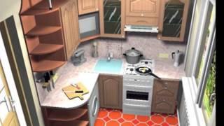 getlinkyoutube.com-Маленькие кухни фото и цены