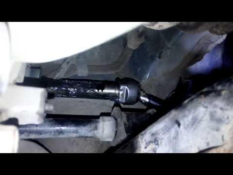 Киа Церато. замена рулевых тяг,рулевых наконечников втулок стабилизатора.