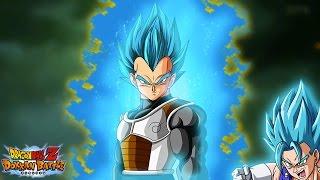 getlinkyoutube.com-BLUE VEGITO STEALS THE SHOW! Super Saiyan Blue Vegeta Dokkan Awakening | Dragon Ball Z Dokkan Battle