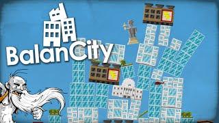 """SIMCITY AND JENGA HAD A BABY!!!"" - BalanCity 1080p HD Gameplay Walkthrough"