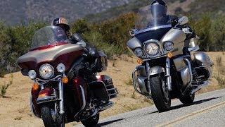 getlinkyoutube.com-2009 Harley-Davidson Electra Glide vs Kawasaki Vulcan - MotoUSA