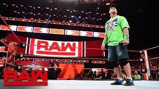 The Undertaker does not respond to John Cena: Raw, April 2, 2018