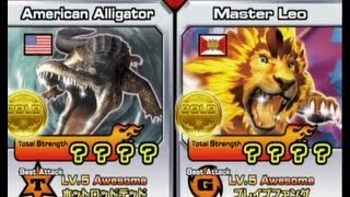getlinkyoutube.com-Animal Kaiser American Alligator vs Master Leo