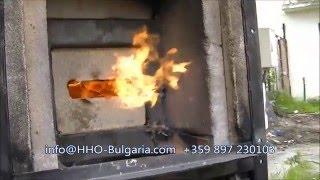 getlinkyoutube.com-Водородна горелка най-евтино отопление HHO burner
