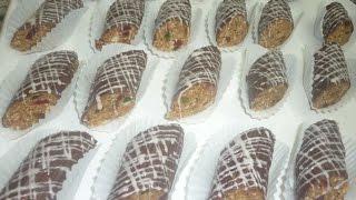 رولي باللوز والكركاع biscuit rouler