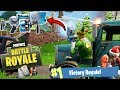 NEW FORTNITE CHRISTMAS UPDATE w NEW GUNS SOON + WINNING SOLO GAMES! Fortnite Battle Royale LIVE