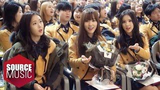 getlinkyoutube.com-여자친구 GFRIEND TODAY - #20160204 은하 유주 졸업식