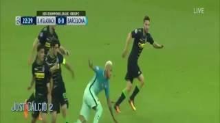 Borussia M'Gladbach VS Barca 1 2 HD  2016