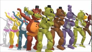 getlinkyoutube.com-(MMD x FNAF)Little Apple + 200Sub Special