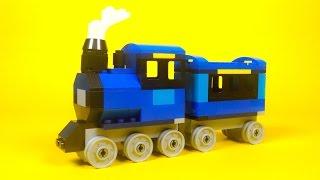 """getlinkyoutube.com-Lego Steam Train Building Instructions - Lego Classic 10696 """"How To"""""""
