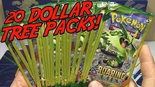getlinkyoutube.com-Pokemon Cards- Opening 20 Roaring Skies Dollar Tree Packs! | SHAYMIN EX HUNTING Ep. 2!