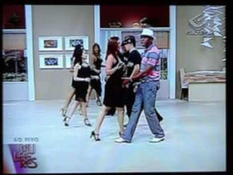 Passo 1 -  Aula de Samba de Gafieira com Alexandre Lopes na TV Gazeta  Mulheres