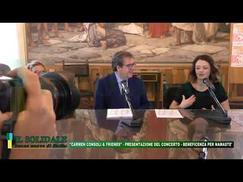 """Video: Presentazione: """"Carmen Consoli & Friends"""" concerto per Namastè"""