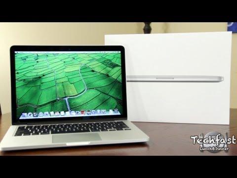 New 13 Inch Retina MacBook Pro Unboxing! (2012)
