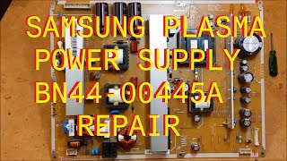 getlinkyoutube.com-Samsung Plasma Power Supply  Repair BN44-00445A Power Factor Correction
