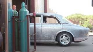 getlinkyoutube.com-Prepping 1967 Volvo Amazon 122 for Paint - IPD Build Off Production Video Diary 11