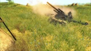 getlinkyoutube.com-Men Of War: The Power Of Artillery