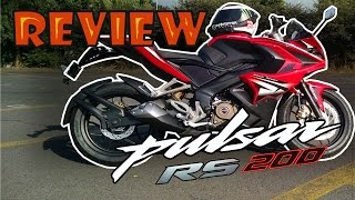 getlinkyoutube.com-Prueba Pulsar RS200 (Rouser) | Review en español