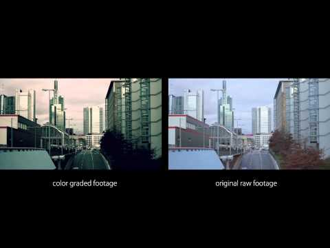 Color correction: Nikon D5100 (DSLR Film Look - Grading)