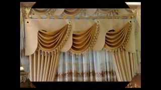 getlinkyoutube.com-Perde Modelleri13 Cortinas Curtain Gorden Tirai Langsir ستارة 커튼 窗帘 窗簾 カーテン