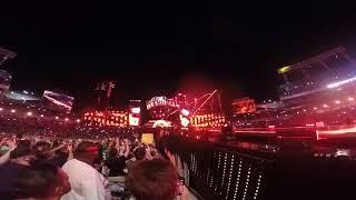 Brock Lesnar Wrestlemania 33 entrance live from entrance ramp