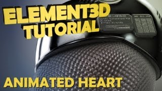 getlinkyoutube.com-Tutorial | Element 3D : Get Your Heart Pumping