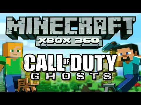 Minecraft Xbox 360 - Call of Duty Ghosts (Mine Craft CoD Ghost Trailer Creation)