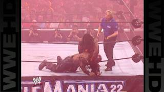 getlinkyoutube.com-Booker T clashes with Boogeyman at WrestleMania 22