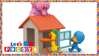 getlinkyoutube.com-Let's Go Pocoyo! - Elly's Playhouse [Episode 37] in HD