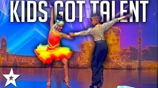 KID DANCERS on SA's Got Talent 2017 | Got Talent Global width=