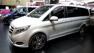 getlinkyoutube.com-2015 Mercedes V-Class V250 Edition1--Exterior, Interior Walkaround-Debut at 2014 Geneva Motor Show