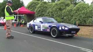 getlinkyoutube.com-Targa Wrest Point 2013: Datsun 240z Pure Sound