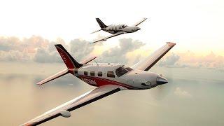 getlinkyoutube.com-Official Piper M600 Flight Demo