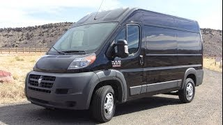 getlinkyoutube.com-2014 Ram ProMaster Cargo Van Up Close & Personal Review