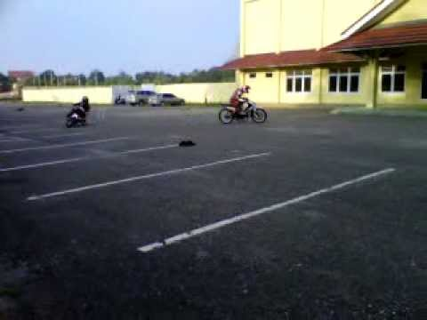 latihan race di mtq