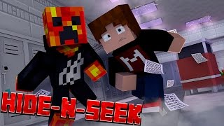 getlinkyoutube.com-SKIPPING CLASS! - School Hide and Seek w/ PrestonPlayz (Minecraft Minigame)