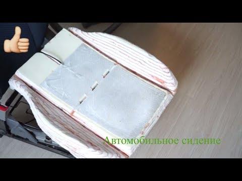 Ремонт своими руками автомобильное сидение от Чери Тиго. Repair of the car seat.