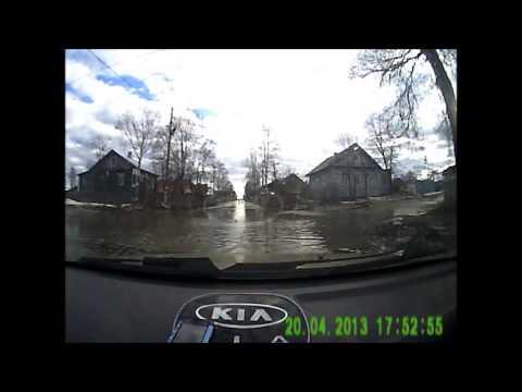 Потоп на колхозной в Калуге