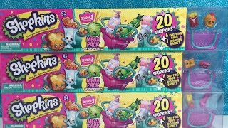getlinkyoutube.com-Shopkins Season 3 20 Pack with New Characters & Ultra Rares Unboxing | PSToyReviews