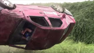 getlinkyoutube.com-Dacia Logan rollover