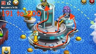getlinkyoutube.com-Monster Legends, Adventure Map Levels 191 to 200
