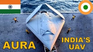 🔴 BREAKING: INDIAN AIR FORCE and DRDO Working on AURA UCAV STEALTH Bomber (GHATAK UCAV)