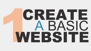 Learn the Basics: Create a Basic Website Using HTML5 - Part 1