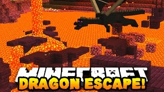 "Minecraft DRAGON ESCAPE #8 ""KEYBOARD GLITCH!"" | w/ PrestonPlayz & Vikkstar123"