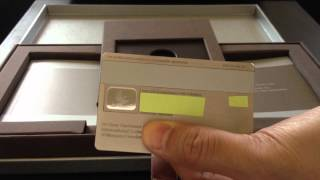 getlinkyoutube.com-J.P. Morgan Chase Palladium Credit Card Unboxing Review (Palladium and White Gold not CENTURION)