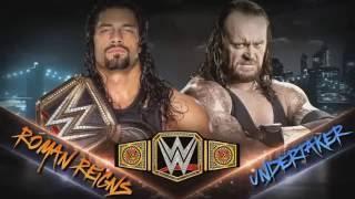 getlinkyoutube.com-undertaker Vs Roman Reigns WWE World Heavyweight Championship 2016