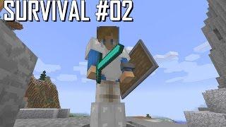 Minecraft Survival #02 - VOU CONTAR UMA HISTÓRIA